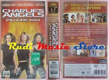film VHS CHARLIE'S ANGELS PIU'CHE MAI Diaz Barrymore Liu SIGILLATA(F68**) no dvd