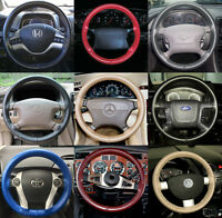 Wheelskins Genuine Leather Steering Wheel Cover for Acura TL