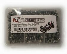 RC Screwz HPI018 HPI Racing R40/Hara Stainless Steel Screw Kit
