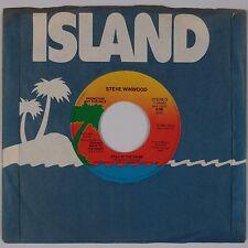 STEVE WINWOOD: Still in the Game USA Mono Stereo PROMO DJ Island 45 VG++
