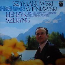 6500 421 Wieniawski Violin Concertos Nos. 1 & 2 / Henryk Szeryng / Krenz / Ba...