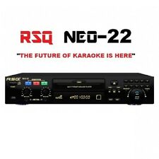 NEQ RSQ NEO 22 PRO KARAOKE MACHINE BLUETOOTH PLAYER 2800 KARAOKE SONGS CDG MP3