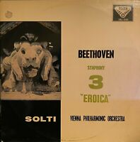RARE LP BEETHOVEN VIENNE ORCHESTRA EROICA SYMPH 3 OG UK DECCA SXL 2165 WBG