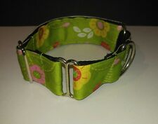 Beautiful Hand Made Martingale Collar - SPRING FLOWERS!