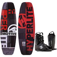Hyperlite Motive Blem Wakeboard Mens 140cm + Hyperlite Bindings O/S 8-12