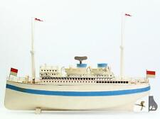 Fleischmann Ocean liner Alfred Ballin Tin Toy Steam Ship hand painted 50 cm boat