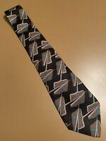 "Vtg Giorgio Armani Abstract Silk Tie Men's Made In Italy 58"" 3.5"""