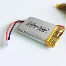 3.7V 500mAh Li po Battery for Psp Mp3 Gps Headphone 602535 Jst 1.5mm Connector