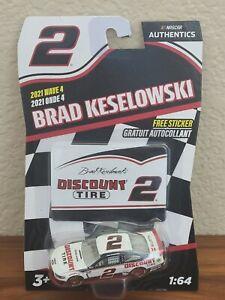 2021 Wave 4 Brad Keselowski Discount Tire 1/64 NASCAR Authentics $1 COMBINE