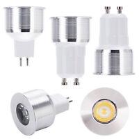 GU10 MR16 LED Mini Spotlight Bulbs W35mm 3W Lamp AC110V 220V DC12V Light Epistar