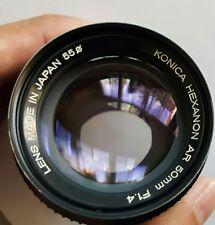 Konica Hexanon AR 50mm 1:1.4 lens to Sony NEX-5T NEX-3N NEX-6 NEX-5R NEX-F3