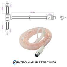 Antenna radio a dipolo per la ricezione VHF / FM con innesto coassiale