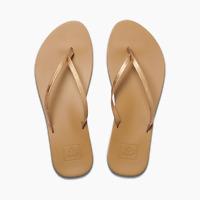 Reef Women's Cushion Bounce Slim Flip Flop Sandals - Copper Size 9