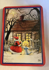 Mary Engelbreit 'Open Your Heart-Open It Wide.Christmas Tin 4� By 6�