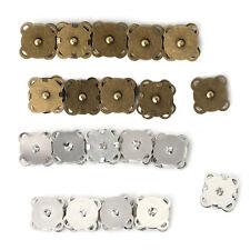 10PCS14/ 18mm DIY Magnetic Snaps Purse Clasp Closures Metal Button Bag Craft