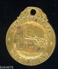 Rare PHILIPSBURG PA The Old Church 150TH ANNIVERSARY 1797-1947 Keychain Fob