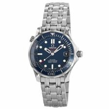 New Omega Seamaster Blue Dial Stainless Steel Unisex Watch 212.30.36.20.03.001