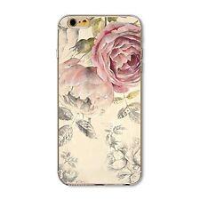"""Coque Gel Souple solide  fantaisie pour Apple iPhone 8  (4,7"""") - Modèle féminin"""