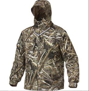 Drake Waterfowl EST Vented Waterproof Full Zip Jacket Max 5 Size LARGE DW2430