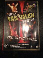 Van Halen - The Van Halen Story, The Early Years DVD, Aus Seller, Free Postage