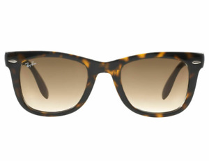 RayBan Wayfarer Folding Tortoise Frame 4105 710 Sunglasses