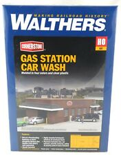 HO Scale Gas station Car Wash Kit - Walthers #933-3539