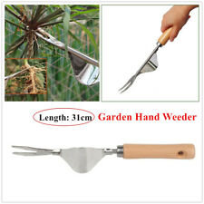 Garden Weeder Hand Weeding Tool Heavy Duty Stainless Steel Weeds Removal Puller