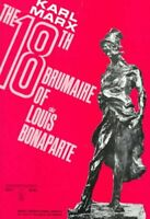 Eighteenth Brumaire of Louis Bonaparte, Paperback by Marx, Karl, Acceptable C...