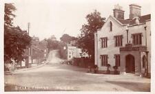 Disley Village Rams Head Hotel Pub Nr Macclesfield RP old pc used 1913