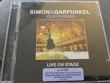 SIMON AND GARFUNKEL OLD FRIENDS LIVE ON STAGE 2CD HAZY BRIDGE BOXER SILENCE ROCK