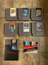 Nintendo Nes game lot - 7 games - 720, Millipede, Legend of Kage, Mario, & more