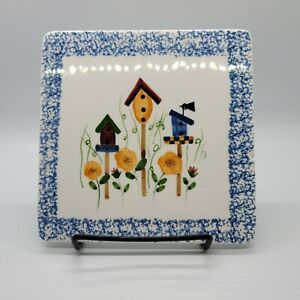 CRAZY MOUNTAIN Ceramic Trivet Hand-painted