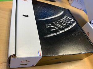 """Staub Round Roasting Dish - 6"""" - .5Qt - Graphite Grey 1301618 new in box"""