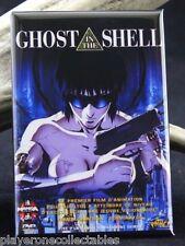 """Ghost in the Shell Movie Poster 2"""" X 3"""" Fridge / Locker Magnet. Japanese Anime"""