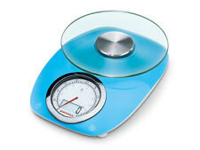 SOEHNLE 5kg Digital and Analogue Kitchen Scale Vintage Style Blue