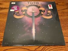 TOTO ORIGINAL FIRST PRESS SELF TITLED LP STILL FACTORY SEALED WITH HYPE STICKER