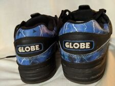 Globe Fusion Skate Shoes Rare Old School Lightning Bolts Colorway Size 10 Mens