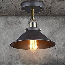 Industrial Vintage Edison Lamp Semi Flush Mount Ceiling Light SIZE 26CM