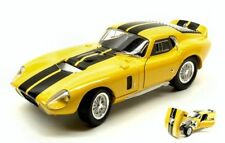 Shelby Cobra Daytona Coupe' 1965 Yellow W/ Black Stripes 1:18 Model