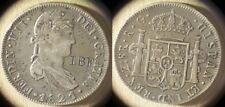 Mexico : Zacatecas 1821Zs 8 Reales Gunter Stamped I.B.F. VF-XF #111.6   IR8322