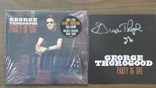 """GEORGE THOROGOOD  AUTOGRAPHED """"PARTY OF ONE""""CD BOOKLET&NEW SEALED CD""""MUSIC NOTE"""""""