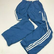 De Colección Adidas Clima 365 Chico pista Traje inferior UK 32/34 (tamaño de los niños) en Azul