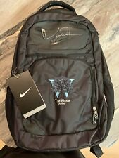 Tiger Woods Autographed Nike Limited Edition 1/1 Rare Signed Backpack