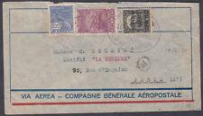 1930 Brazil Airmail Rio Janeiro to Paris (B/S), France