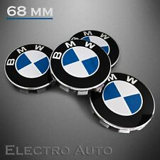4x BMW 68MM Naben Deckel Naben Kappen Felgen Auto Zier Blenden Emblem Logo