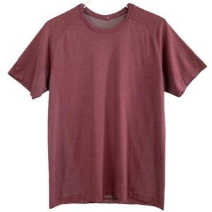 """Lululemon Men's Sz M """"Time To Get Dirty Get Outside Get Sweaty"""" T-Shirt Tee"""