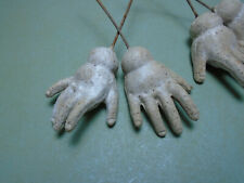 """Antique composition doll hands replacement for ball jointed bodies, 1.96"""", 50 mm"""