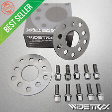 WIDETRAX Complete Set 5mm Audi VW Wheel Spacers Ball Seat Lug Bolts 5x100 5x112