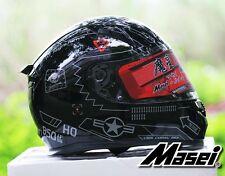 Masei 850 F117 Nighthawk Motorcycle US Air Force Pilot Bike DOT ECE HJC HELMET