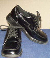 Smart Fit Black Dress Shoes Lace Slip OnToddler PreSchool Size 11.5 M  Easter!